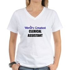Worlds Greatest CLERICAL ASSISTANT Shirt