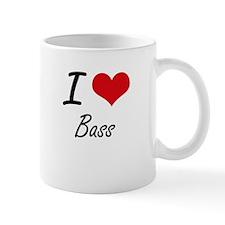 I love Bass Artistic Design Mugs