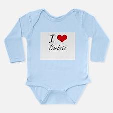 I love Barbets Artistic Design Body Suit
