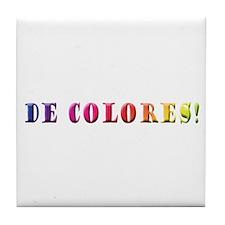 DeColores! Tile Coaster