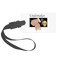 Undertaker Luggage Tag
