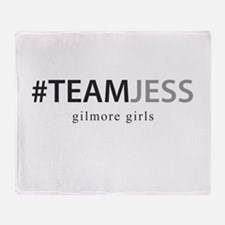 Team Jess - gilmore girls Throw Blanket