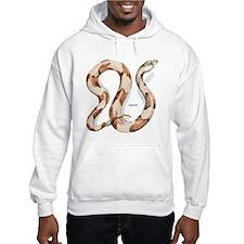 Copperhead Snake (Front) Hoodie