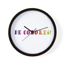 DeColores! Wall Clock