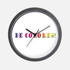 DeColores! Wall Clock