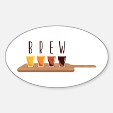 Brew Glasses Decal