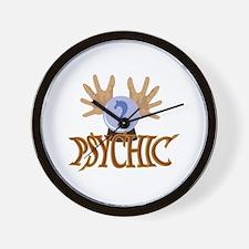 Crystal Ball Psychic Wall Clock