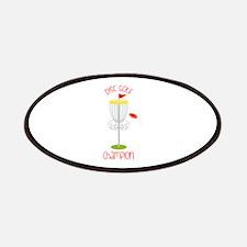 Disc Golf Champion Patch