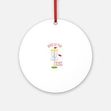 Toss Boss Round Ornament