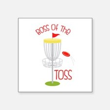Toss Boss Sticker