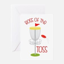 Toss Boss Greeting Cards
