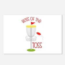 Toss Boss Postcards (Package of 8)