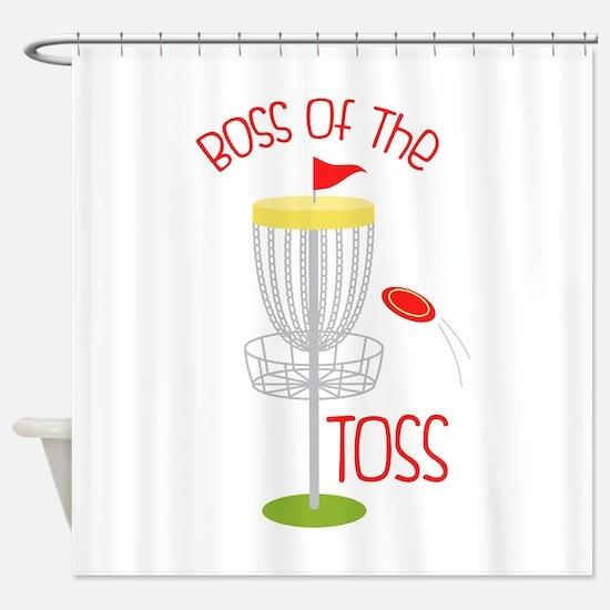 Toss Boss Shower Curtain