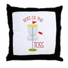 Toss Boss Throw Pillow