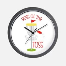 Toss Boss Wall Clock