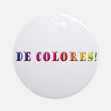 DeColores! Ornament (Round)