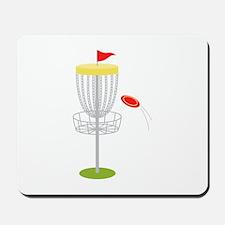Frisbee Disc Golf Mousepad