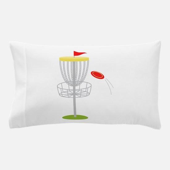 Frisbee Disc Golf Pillow Case