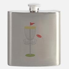 Frisbee Disc Golf Flask