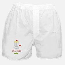 Frisbee Disc Dude Boxer Shorts