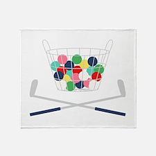Miniature Golf Throw Blanket