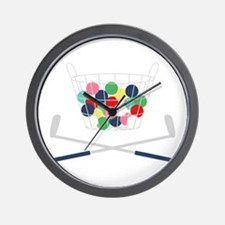 Miniature Golf Wall Clock
