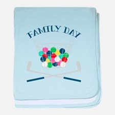 Family Day baby blanket