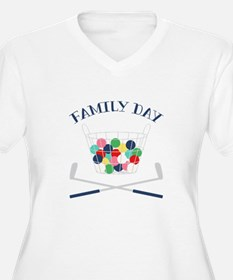 Family Day Plus Size T-Shirt
