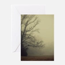 A Gathering of Fog Greeting Card
