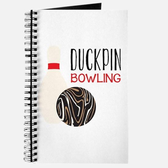 Duckpin Bowling Journal