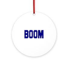 Boom Ornament (Round)