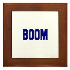Boom Framed Tile
