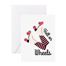 Hell On Wheels Greeting Cards