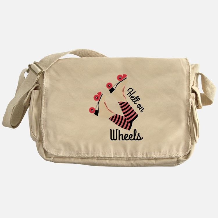 Hell On Wheels Messenger Bag