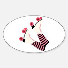 Roller Derby Skates Decal