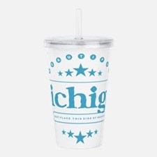 Michigan Acrylic Double-wall Tumbler