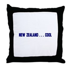 New Zealand . . . Cool Throw Pillow