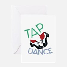 Tap Dance Greeting Cards