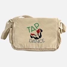Tap Dance Messenger Bag