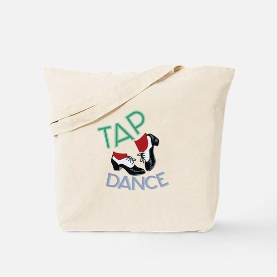Tap Dance Tote Bag