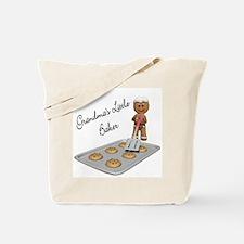 Grandma's Little Baker Gingerbread Tote Bag