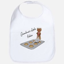 Grandma's Little Baker Gingerbread Bib
