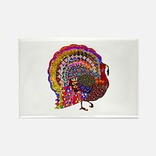 Dazzling Artistic Thanksgiving Turkey Magnets