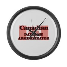 Canadian Database Administrator Large Wall Clock