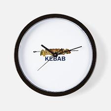 Kebab Wall Clock
