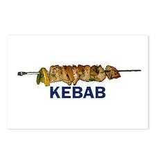 Kebab Postcards (Package of 8)