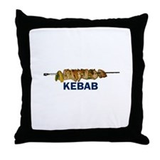 Kebab Throw Pillow
