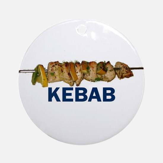 Kebab Ornament (Round)