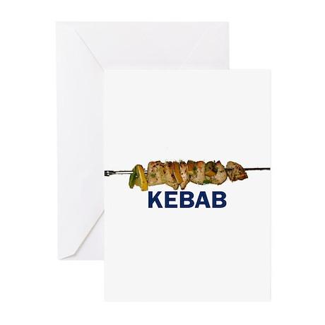 Kebab Greeting Cards (Pk of 10)