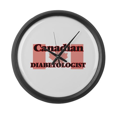 canadian diabetologist large wall clock by admin cp10501932